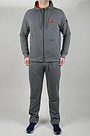 Мужской спортивный костюм Jordan 4643 Тёмно-серый