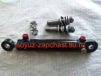 Гидроцилиндр рулевой МТЗ-80, МТЗ-82, ГЦ-50.25.200  с пальцами МТЗ-80, фото 1