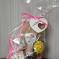 Вкусные подарки: восточные сладости, ароматный чай и магнит на холодильник дерево-топиарий