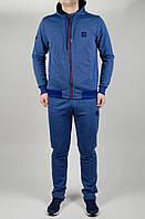 Мужской спортивный костюм Jordan Батал 4647 Синий