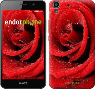 """Чехол на Huawei Y6 Красная роза """"529c-333-571"""""""