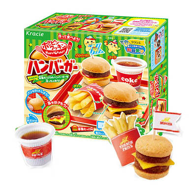 "Popin' Cookin'  Hamburger Making Kit Японский набор ""Сделай сам"" Гамбургер"