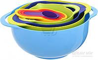Набор мерной посуды 8 предметов разноцветный