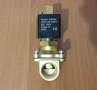 """Клапан Ду25 1"""" нормально открытый соленоидный электромагнитний 220В"""