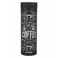 Tермокружка Contigo THERMALOCK TwistSeal EclipseTravel Mug 591 мл. Black Coffee (1000-0698), фото 1