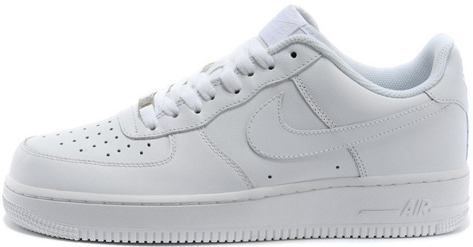 61c3417f7078 Кроссовки Nike Air Force 1 Premium Low All White - City-Sport - интернет  магазин