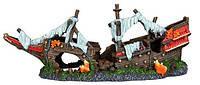 Trixie TX-87817 Грот Обломки корабля, 38 см-декорация для аквариума