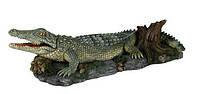 Trixie TX-8716 Грот Крокодил 26 см-декорация для аквариума, фото 2