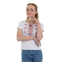 Женские трикотажные футболки - Ромбы