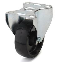 Колеса из фенольной смолы диаметр 125 мм с неповоротным кронштейном. Серия 70