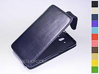Откидной чехол из натуральной кожи для Huawei Mate 10