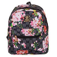 """Маленький женский рюкзак """"Цветы"""" Seven (Q2888s-1)"""