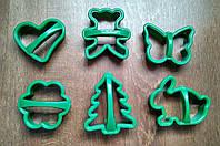 Набор форм для печенья с ручкой (6 шт.), фото 1