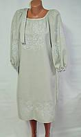 Платье с вышивкой 00126