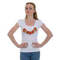 Вышивка на футболках - Рюша Мак