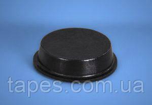 Цилиндрический бампер BS-41 (19,8мм х 5,1мм) черный цвет, Bumper Specialties Inc.