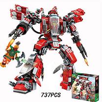 Дитячий Конструктор «Вогняний робот Кая» Ninja SY926 737 деталі, аналог Lego Ninjago Movie