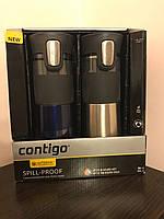 Подарочный набор Термокружки Contigo Pinnacle Autoseal (470 мл) (2 шт.), фото 1