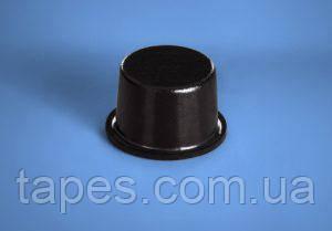 Цилиндрический бампер BS-11 (16,5мм х 10,2мм) черный цвет, Bumper Specialties Inc.