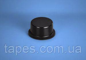Циліндричний бампер BS-6 (12,7 мм х 6,4 мм) чорний колір, Bumper Specialties Inc.