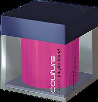 Коралловая (розовая) маска для волос LUXURY PURPLE BLOND ESTEL HAUTE COUTURE, уход за светлыми волосами,200мл.