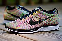 Мужские кроссовки Nike Flyknit Racer Multicolor