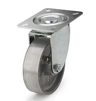 Колеса алюминиевые диаметр 100 мм с поворотным кронштейном. Серия 71