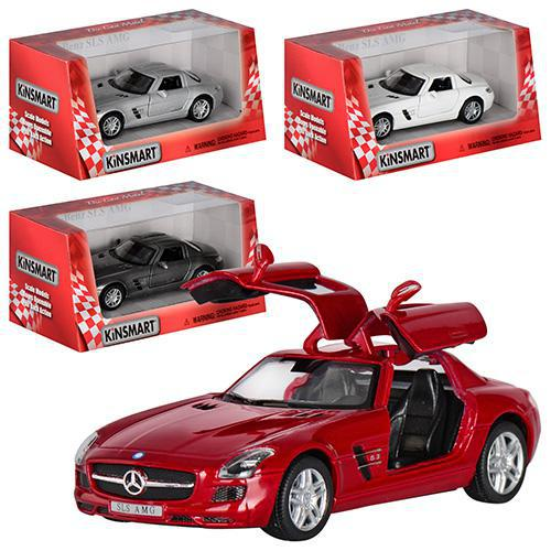 "Машинка металева ""Mercedes-Benz SLS"" КT 5349 W"