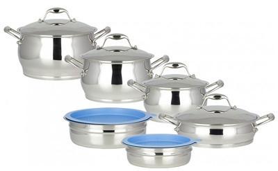 Набор посуды ORIGINAL BERGHOFF Zeno 1111002 (12 предметов)  - Интернет-магазин «Кнопка» г.Каменец-Подольский в Каменце-Подольском