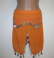 Юбка для танца живота, звонкие металлические украшения, в поясе 23-43 см