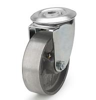 Колеса алюминиевые диаметр 100 мм с поворотным кронштейном с отверстием. Серия 71