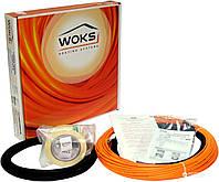 Двухжильный нагревательный кабель под плитку TM Woks 0,7-0,8 м.кв