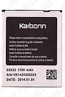 Аккумулятор Karbonn E8222 1700mah (оригинал тех. упаковка)