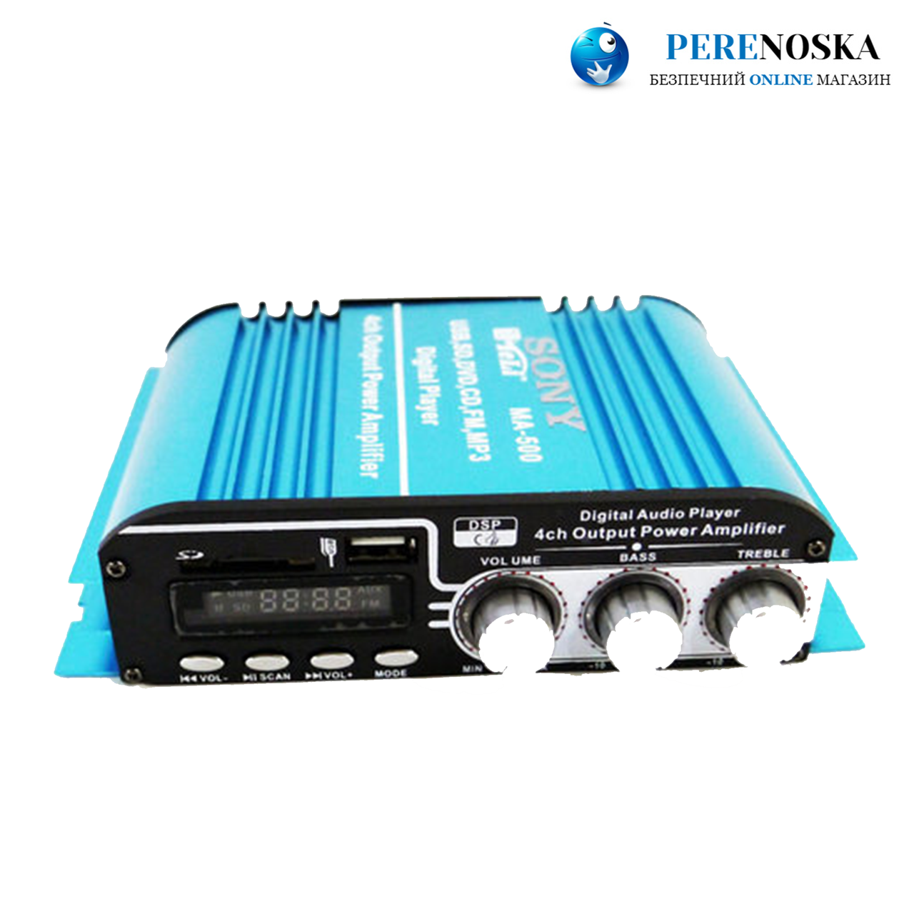 Sony MA-500 Усилитель звука USB + Mp3 4*55W