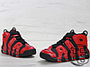 Мужские кроссовки реплика Nike Air More Uptempo QS Black/Red Infrared 819151-001, фото 2