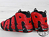 Мужские кроссовки реплика Nike Air More Uptempo QS Black/Red Infrared 819151-001, фото 3