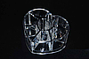 Подставка органайзер для косметики SF-1057 сердце