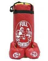 Детский боксерский набор + перчатки 6 oz