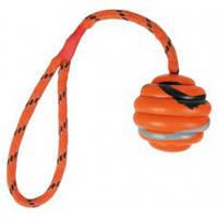 Игрушка для собак Trixie (Трикси 33724) мяч на канате 6 см
