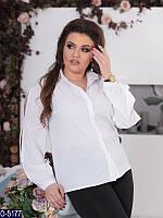 Блузка (50, 52, 54, 56) — софт купить оптом и в Розницу в одессе 7км 52