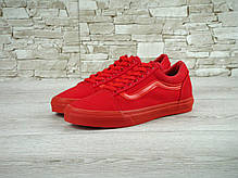 Женские кеды Vans Old Skool Crimson, Ванс Олд Скул, фото 3