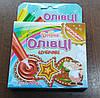 Сахарные карандаши ТМ Добрик с натуральными красителями