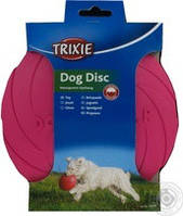 Игрушка для собак Trixie (Трикси33501) летающая тарелка резиновая 18 см