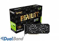 Видеокарта Palit GeForce GTX 1080 Dual OC (NEB1080U15P2-1045D)