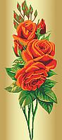 Схема для вишивки бісером троянда-Королева квітів (Червона), фото 1