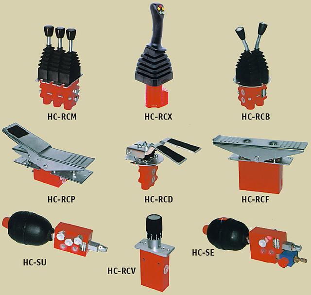Рукоятка дистанционного электро-гидравлического управления