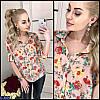 Блуза (42, 44, 46) — 100 % полиэстер