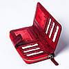 Женский кошелек кожаный красный BUTUN 636-008-006, фото 6