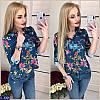 Рубашка (42, 44, 46) — 100 % полиэстер купить оптом и в Розницу в одессе 7км