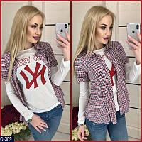 Рубашка и батник (42, 44, 46) — 100 % котон купить оптом и в Розницу в одессе 7км